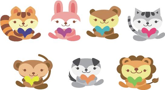 Intercambio. Poesía para niños, sobre animales. Encuentos