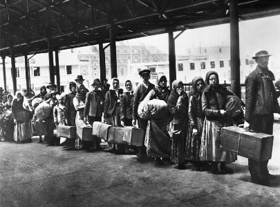llegada de inmigrantes